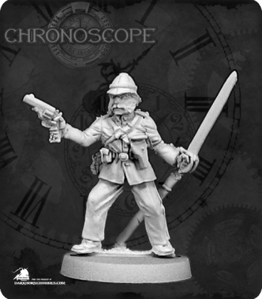 Chronoscope (Pulp Adventures): Col. Edward Titchener, British Officer