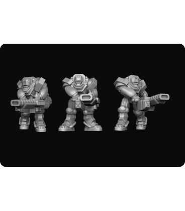 Dropzone Commander: UCM - Heavy Hazard Suits