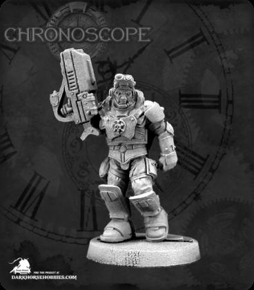 Chronoscope (NOVA Corp): Nick Stone, IMEF Squad Leader