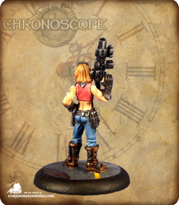 Chronoscope (Chronotech): Rosie Johnson, Chronotechnician (painted by John Bonnot)