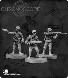 Chronoscope: Zombie German Soldiers Set