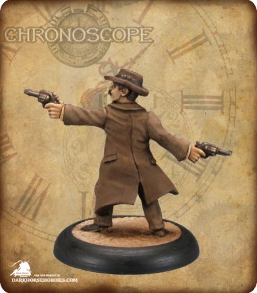Chronoscope (Wild West): Doc Holiday (painted by Derek Schubert)