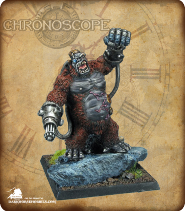 Chronoscope (Super Villains): Ape-X. Supervillian (painted by John Newman)