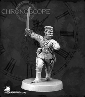 Chronoscope: Saburo Aritomo, Meiji Japanese Officer