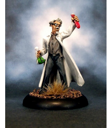 Chronoscope (Super Villains): Dr. Ervin Friedman, Mad Scientist (painted by Rich Burge)