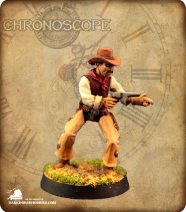 Chronoscope (Wild West): Rio Wilson, Cowboy (painted by Nytflyr)