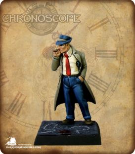 Chronoscope (Noir): Max Decker, Private Eye (painted by Rhonda Bender)
