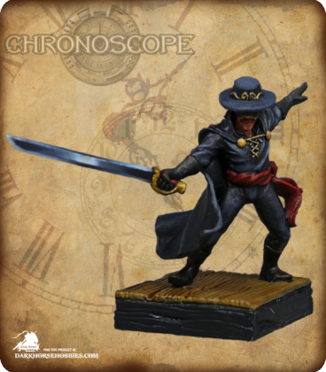 Chronoscope (Pulp Adventures): Zorro (painted by Citrine)