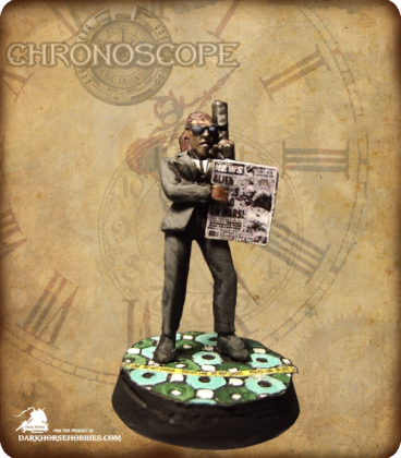 Chronoscope: Kelly O, Corporate Assassin (painted by Jordan Peacock)
