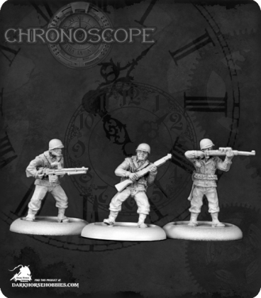 Chronoscope: World War II G.I. Infantry Set