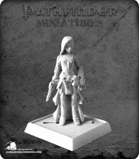 Pathfinder Miniatures: Meyanda, Android Priestess