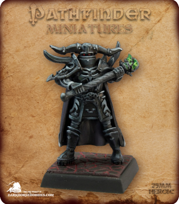 Pathfinder Miniatures: Graveknight (painted by Martin Jones)