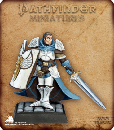 Pathfinder Miniatures: Holy Vindicator (painted by Martin Jones)