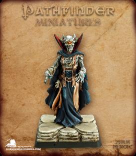 Pathfinder Miniatures: Vordakai, Cyclops Lich - Dark Horse