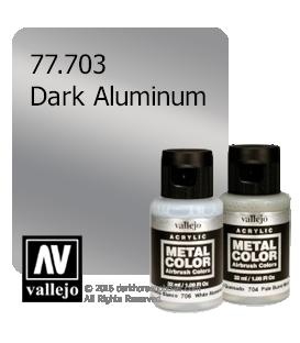 Vallejo Metal Color: Dark Aluminum (32ml)