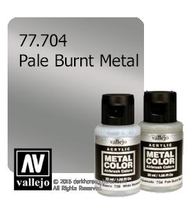 Vallejo Metal Color: Pale Burnt Metal (32ml)
