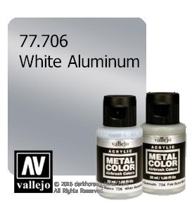 Vallejo Metal Color: White Aluminum (32ml)