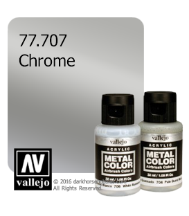 Vallejo Metal Color: Chrome (32ml)