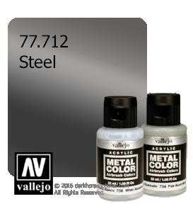 Vallejo Metal Color: Steel (32ml)