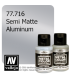 Vallejo Metal Color: Semi Matte Aluminum (32ml)