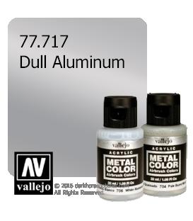 Vallejo Metal Color: Dull Aluminum (32ml)