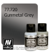 Vallejo Metal Color: Gunmetal Grey (32ml)