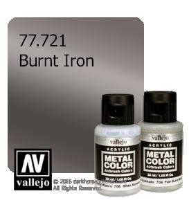 Vallejo Metal Color: Burnt Iron (32ml)