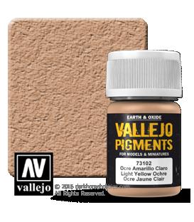Vallejo Pigments: Light Yellow Ochre (35ml)