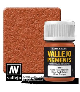 Vallejo Pigments: Dark Red Ochre (35ml)