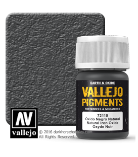 Vallejo Pigments: Natural Iron Oxide (35ml)
