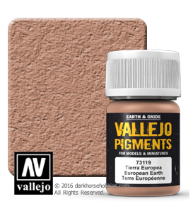 Vallejo Pigments: European Earth (35ml)
