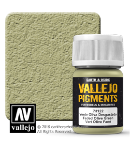 Vallejo Pigments: Faded Olive Green (35ml)