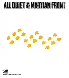 All Quiet on the Martian Front: Blaster Markers Set