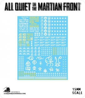All Quiet on the Martian Front: Transfer Sheet