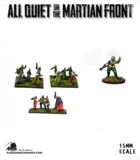 All Quiet on the Martian Front: Martian Forces - LobototOn Squad Blasters