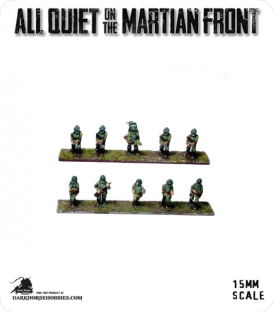 All Quiet on the Martian Front: BEF - British Infantry Squad