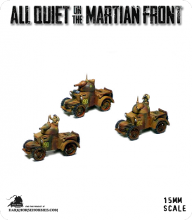 All Quiet on the Martian Front: BEF - Defiant Armored Cars