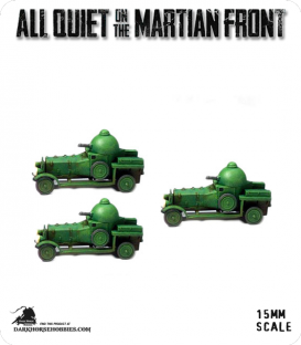 All Quiet on the Martian Front: BEF - Spector Armored Cars
