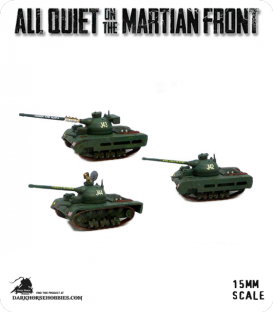 All Quiet on the Martian Front: BEF - Imperial Tanks