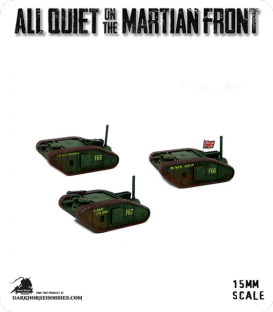 All Quiet on the Martian Front: BEF - Tommy Tanks