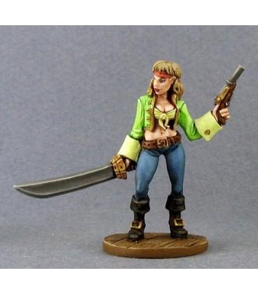 Pirates of the DragonSpine Sea II Boxed Set (03251 - Finaela, Half Elf Pirate)