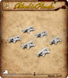Blood & Plunder: Medium Cannons