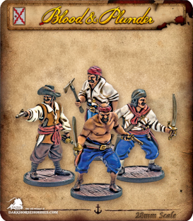 Blood & Plunder: Spain - Marineros Unit