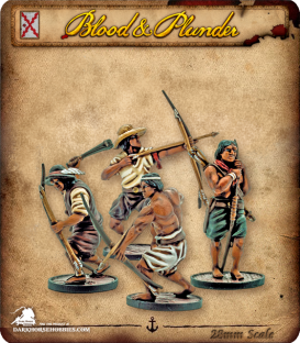 Blood & Plunder: Spain - Milicianos Indios Unit
