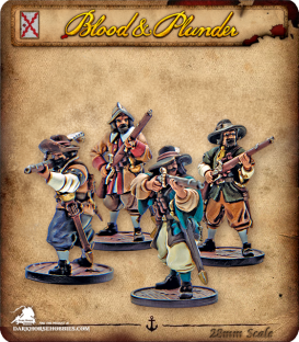 Blood & Plunder: Spain - Milicianos Unit