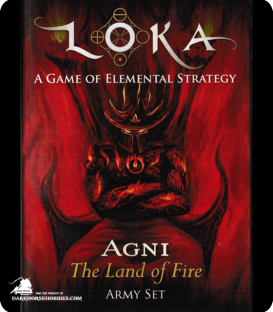 LOKA: Fantasy Chess - Fire Faction Set