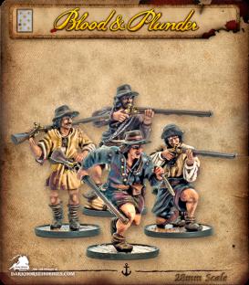 Blood & Plunder: France - Boucaniers Unit