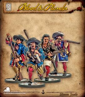 Blood & Plunder: France - Flibustiers Unit