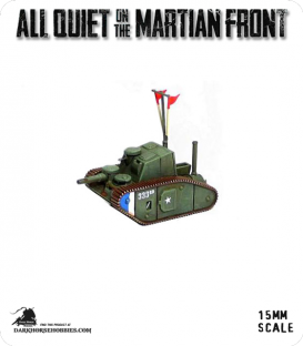 All Quiet on the Martian Front: United States - MKII Steam Tank (Command)