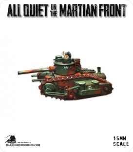 All Quiet on the Martian Front: United States - MKIV Monitor Tank